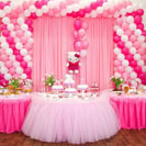 birthday party stage decoration