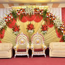 marriage/reception stage decoration