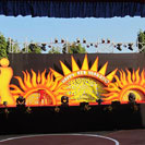 cultural event stage decoration